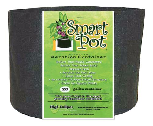 Smart Pot Black 20 Gallon w/ handles