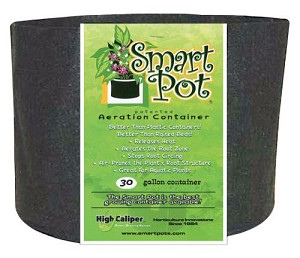 Smart Pot Black 30 Gallon