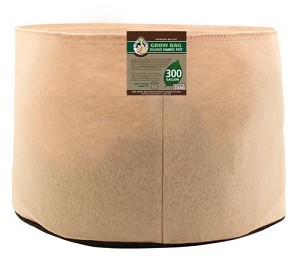 Gro Pro 300 Gallon Round Fabric Pot-Tan